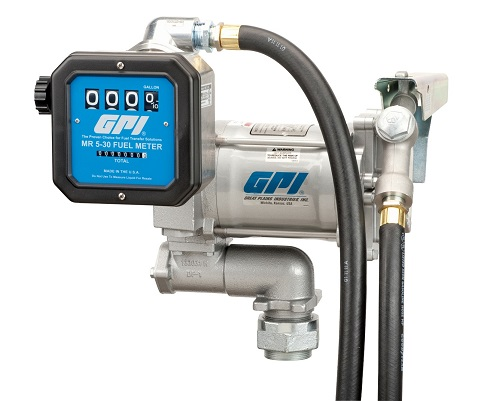 GPI 110-Volt Pump with 1in Meter Combo