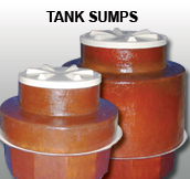 "Tank Sump with Epoxy Kit for 42"" Tank Collar"