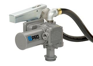 GPRO 12V 20 GPM Fuel Transfer Pump with Hose/Nozzle