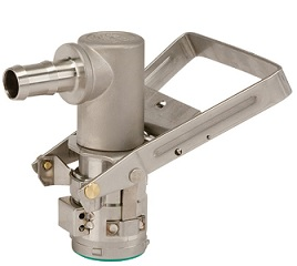 Micromatic Stainless Steel RSV Dispense Coupler