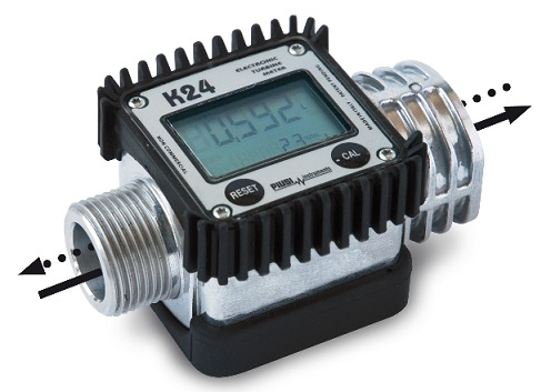 Piusi K24 In-Line Digital Meter