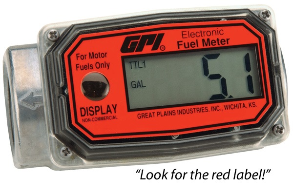 GPI Digital Fuel Meters